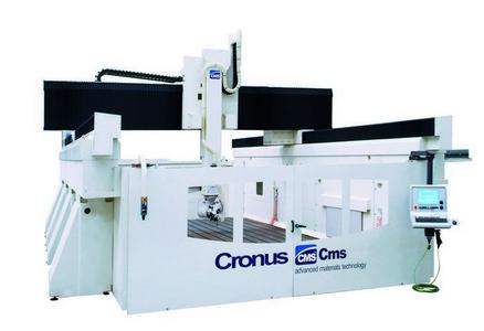 Ponte per Alluminio e Composito 5 Assi Cronus