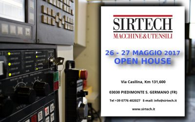 Open House 26 – 27 Maggio 2017